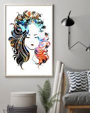 Beautiful Girl Hairdresser 11x17 Poster lifestyle-poster-1