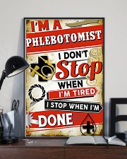 Phlebotomist I stop when I'm done 11x17 Poster lifestyle-poster-2