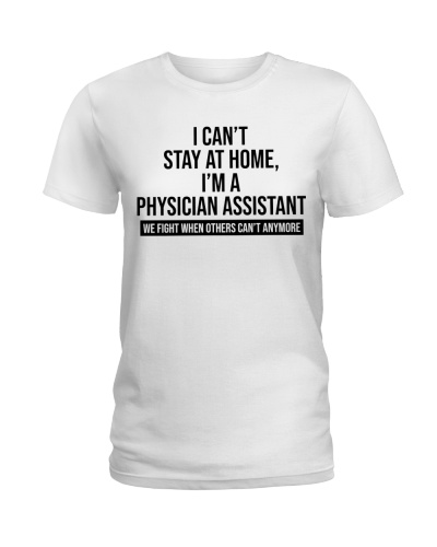 I can't stay at home - I'm a Physician Assistant