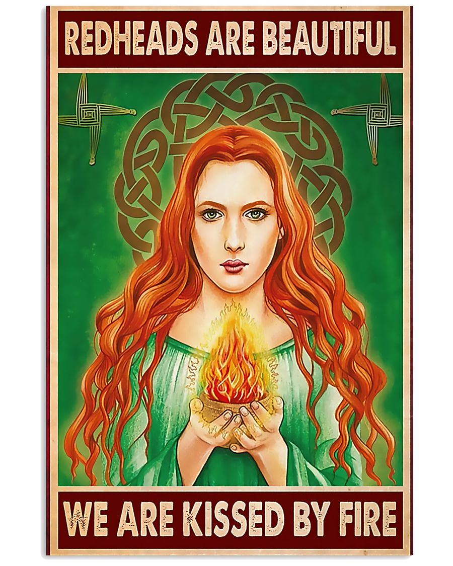 Redhead Girl - Redheads Are Beautiful 11x17 Poster