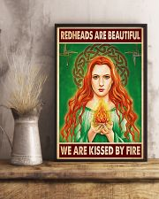 Redhead Girl - Redheads Are Beautiful 11x17 Poster lifestyle-poster-3