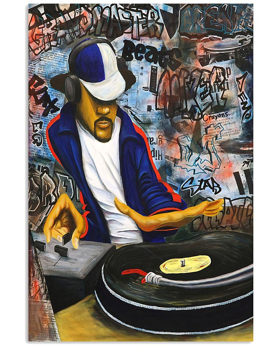 DJ Vintage 11x17 Poster