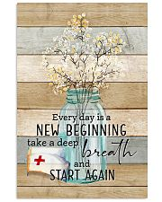 Nurse Everyday Is A New Beginning Poster 11x17 Poster front