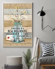 Nurse Everyday Is A New Beginning Poster 11x17 Poster lifestyle-poster-1