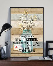 Nurse Everyday Is A New Beginning Poster 11x17 Poster lifestyle-poster-2