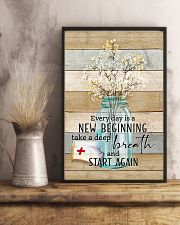Nurse Everyday Is A New Beginning Poster 11x17 Poster lifestyle-poster-3