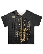 Saxophone Details All-over T-Shirt front