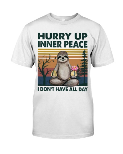 Yoga Hurry up inner peace I don't have all day