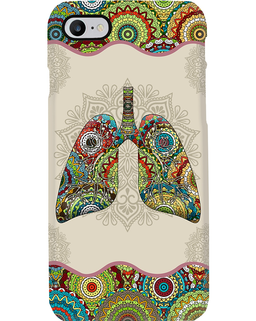 Respiratory Therapist Unique Pattern Lungs Phone Case