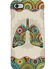 Respiratory Therapist Unique Pattern Lungs Phone Case i-phone-7-case