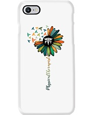 Physical Therapist Colorful Caduceus Phone Case thumbnail