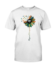 Physical Therapist Colorful Caduceus Classic T-Shirt front
