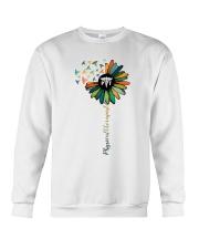Physical Therapist Colorful Caduceus Crewneck Sweatshirt thumbnail