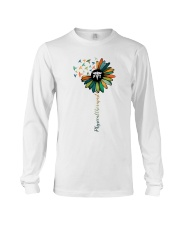 Physical Therapist Colorful Caduceus Long Sleeve Tee thumbnail