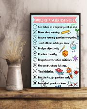 Rules of a scientist's life Poster 11x17 Poster lifestyle-poster-3
