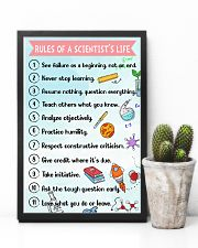 Rules of a scientist's life Poster 11x17 Poster lifestyle-poster-8
