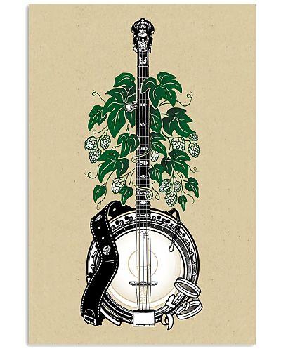5 Strings Banjo Green