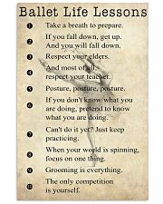 Ballet Life Lessons 11x17 Poster front