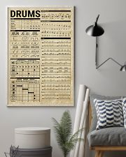 Drums Knowledge Drummer Gift 11x17 Poster lifestyle-poster-1