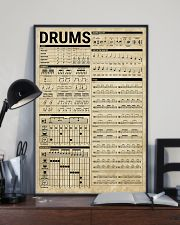 Drums Knowledge Drummer Gift 11x17 Poster lifestyle-poster-2