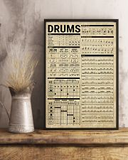 Drums Knowledge Drummer Gift 11x17 Poster lifestyle-poster-3