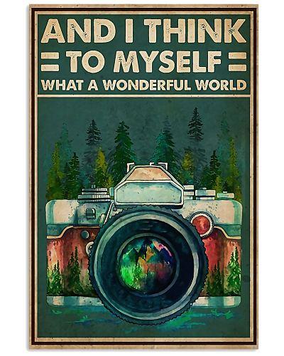 Photographer A Wonderful World