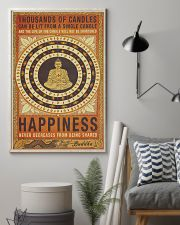 Yoga Happiness Never Decreases From Being Shared 11x17 Poster lifestyle-poster-1