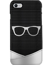 Optometrist Silver Glasses Image Phone Case i-phone-7-case