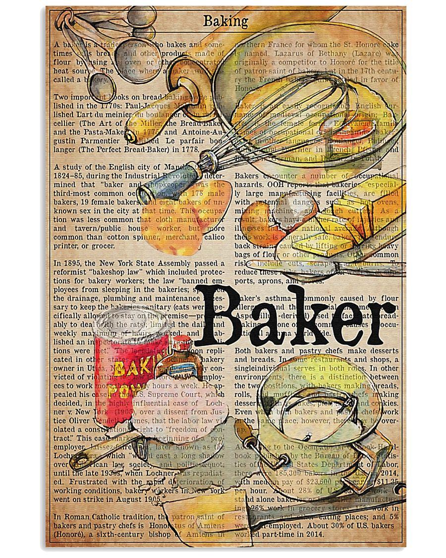 Baker Definition 11x17 Poster
