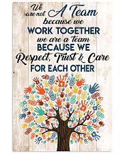 Social Worker We Work Together 11x17 Poster front