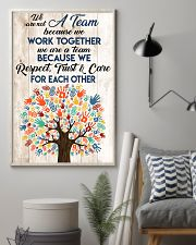 Social Worker We Work Together 11x17 Poster lifestyle-poster-1