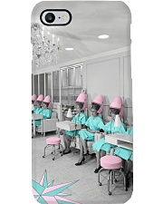 Hairdresser Vintage Ladies Hair Salon Phone Case thumbnail