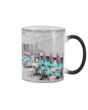 Hairdresser Vintage Ladies Hair Salon Color Changing Mug thumbnail