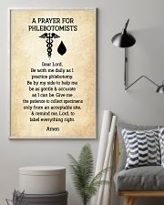 A Prayer For Phlebotomists 11x17 Poster lifestyle-poster-1