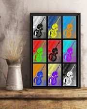 Contrabass Colorful  11x17 Poster lifestyle-poster-3