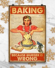 Baking Because Murder Is Wrong 11x17 Poster aos-poster-portrait-11x17-lifestyle-25