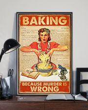 Baking Because Murder Is Wrong 11x17 Poster lifestyle-poster-2