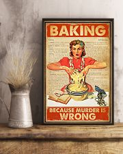 Baking Because Murder Is Wrong 11x17 Poster lifestyle-poster-3