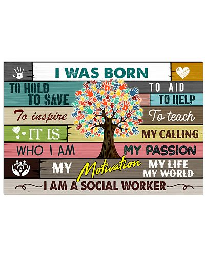 Social Worker Was Born To Help