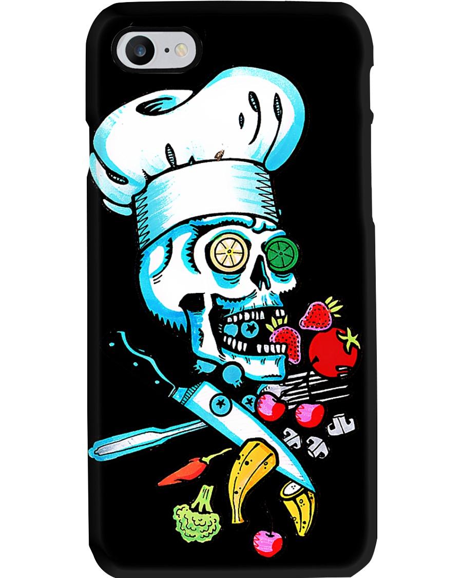 Chef Skull Phone Case
