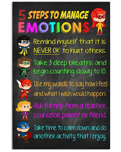 Teacher 5 Steps To Manage Emotions