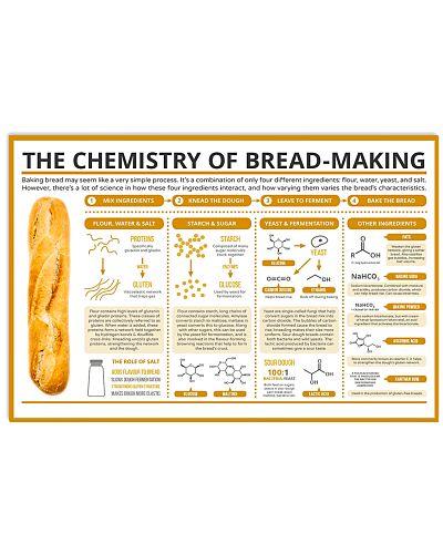 Baking Chemistry of Bread-making Poster