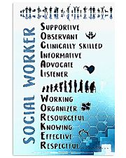 Social Worker Wording 11x17 Poster front