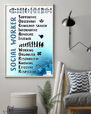Social Worker Wording 11x17 Poster lifestyle-poster-1