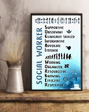 Social Worker Wording 11x17 Poster lifestyle-poster-3