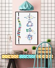 Chiropractor Spine Art 16x24 Poster lifestyle-poster-6
