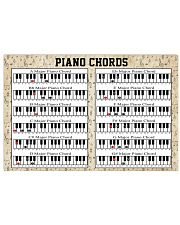 Pianist Piano Chord 17x11 Poster front