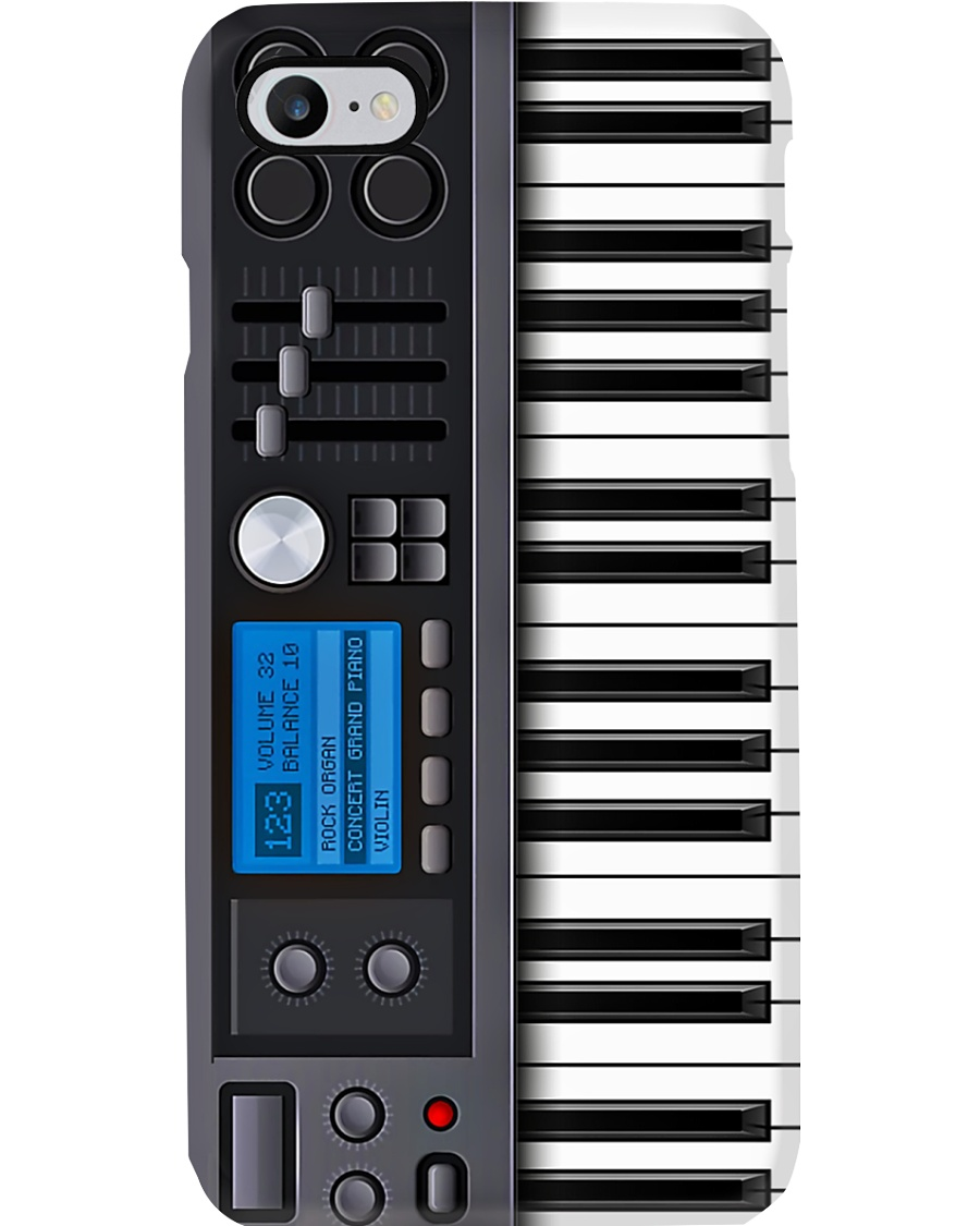 Pianist Piano Note Phone Case