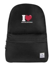 Accountant - I Love Accounting Backpack thumbnail