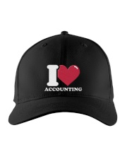Accountant - I Love Accounting Embroidered Hat front